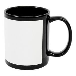 Black Patch Mug