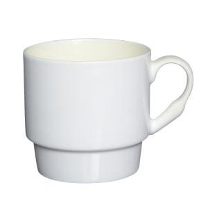Stackable Bone China Mug